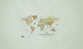 Reis door Zuidoost-Azië