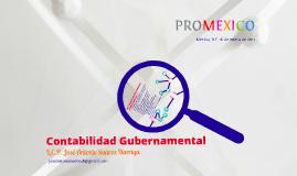 Conferencia sobre Contabilidad Gubernamental en Promexico