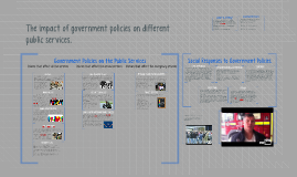 Copy of Describe with examples the impact of government policies on
