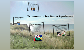Treatments for Down Syndrome