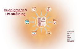 Hudpigment och UV-strålning