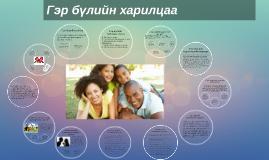 Copy of Copy of Гэр бүлийн харилцаа