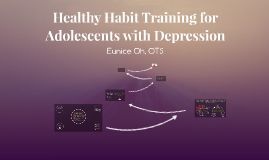 Healthy Habit Training for Adolescents with Depression