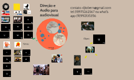 Copy of Direção e Audio para audiovisual