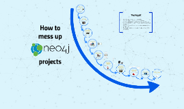 How to mess up neo4j projects