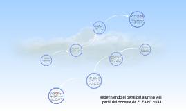 Redefiniendo el perfil del alumno y el perfil del docente de ECEA Nº 3044