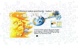 5.2 Njutnov zakon gravitacije - zadaci - 1. deo