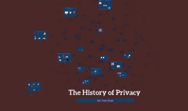 History of Privacy