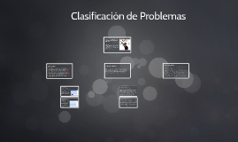 Copy of Clasificación de Problemas