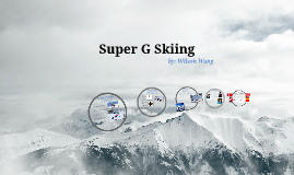 Super G Skiing