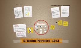 El Boom Petrolero- 1972