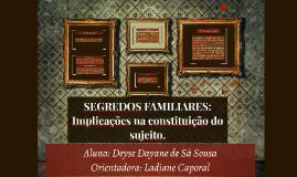 SEGREDOS FAMILIARES: