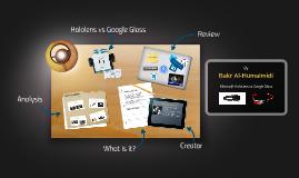 Microsoft Hololens vs Google Glass