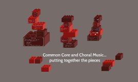 Common Core and Choral Music...putting together the pieces