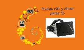 Oculus rift y otras gafas 3D para juegos