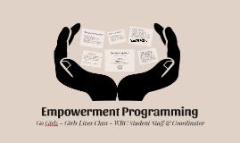 Go Girlz Empowerment Program