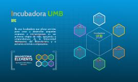 Incubadora UMB