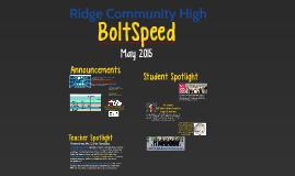 Bolt Speed - May 2015