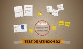 Test de Atención D2