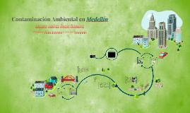 Contaminación Ambiental en Medellín