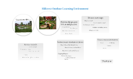Copy of Hillcrest Outdoor Learning Environment