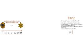 Jüdisches Leben in der Weimarer Republik