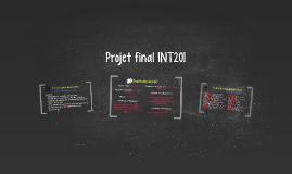 Projet final INT201