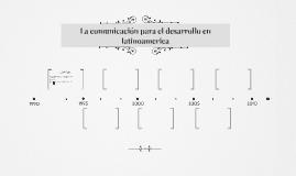 La comunicación para el desarrollo en latinoamerica