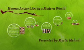Henna: Ancient Art in a Modern World