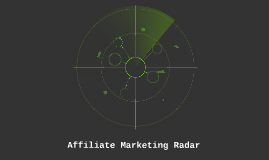 Affiliate Marketing Radar