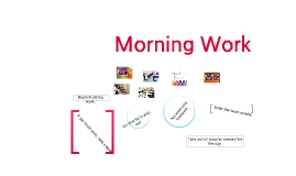 Copy of Procedures for Entering the room and Beginning Morning work