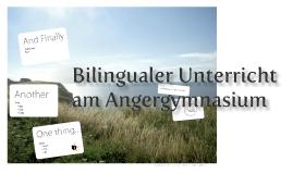 Projekt Bili Angergymnasium
