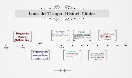Línea del Tiempo- Historia Clínica