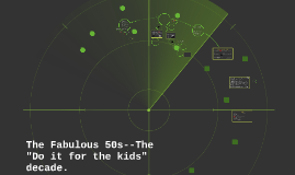 """The Fabulous 50s--The """"Do it for the kids"""" decade."""
