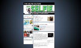 THE SELFIE CULTURE
