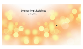 Engineering Diciplines