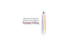 Passenger Profiling