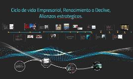 Copy of Ciclo de vida Empresarial, Renacimiento o Declive, Alianzas