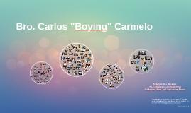 "Bro. Carlos ""Boying"" Carmelo"