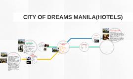 CITY OF DREAMS MANILA(HOTELS)