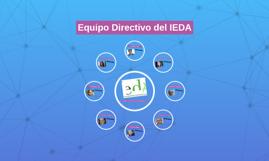 Equipo Directivo del IEDA