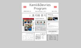 Kamii&Devries Program