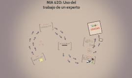 NIA 620: Uso del trabajo de un experto