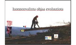 bi1 kpl 6 luonnonvalinta ohjaa evoluutiota