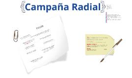 Clase final: La Campaña Radial