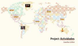 Project: Actividades