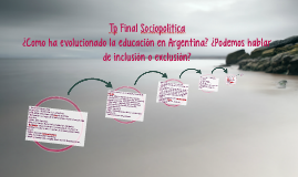 Tp Final Sociopolítica