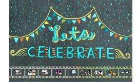 Let's celebrateLet's celebrate