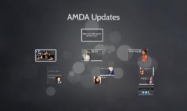 AMDA Updates