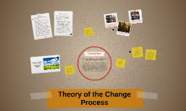 Theory of the change process